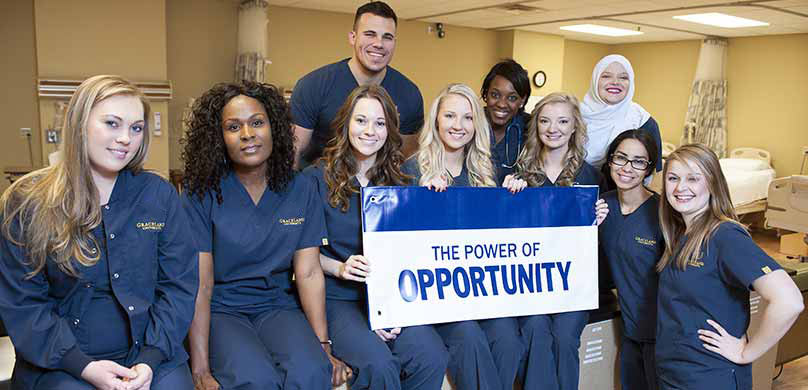 Power of Opportunity Nurse Banner